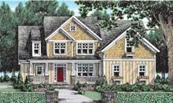 Craftsman Style Floor Plans Plan: 85-161