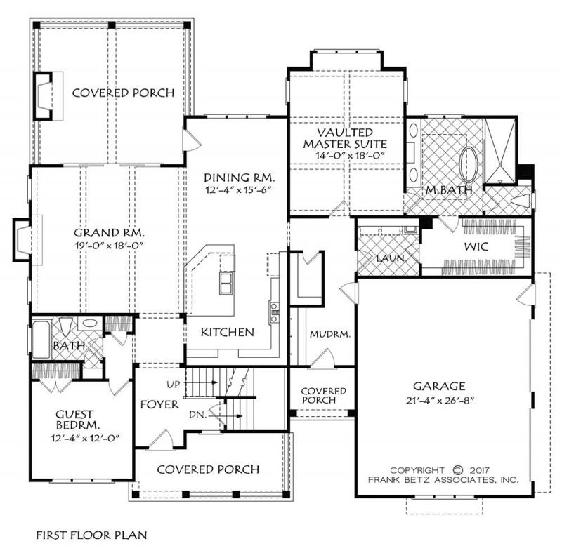 Main Floor Plan: 85-162
