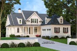 Southern Style House Plans Plan: 85-169