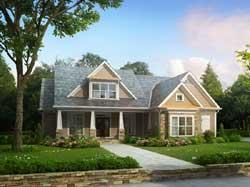 Craftsman Style House Plans Plan: 85-170