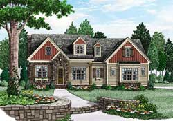 Country Style House Plans Plan: 85-173