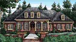 Southern Style House Plans Plan: 85-187