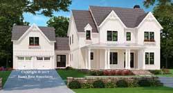 Modern-Farmhouse Style House Plans Plan: 85-192