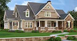 Modern-Farmhouse Style House Plans Plan: 85-196