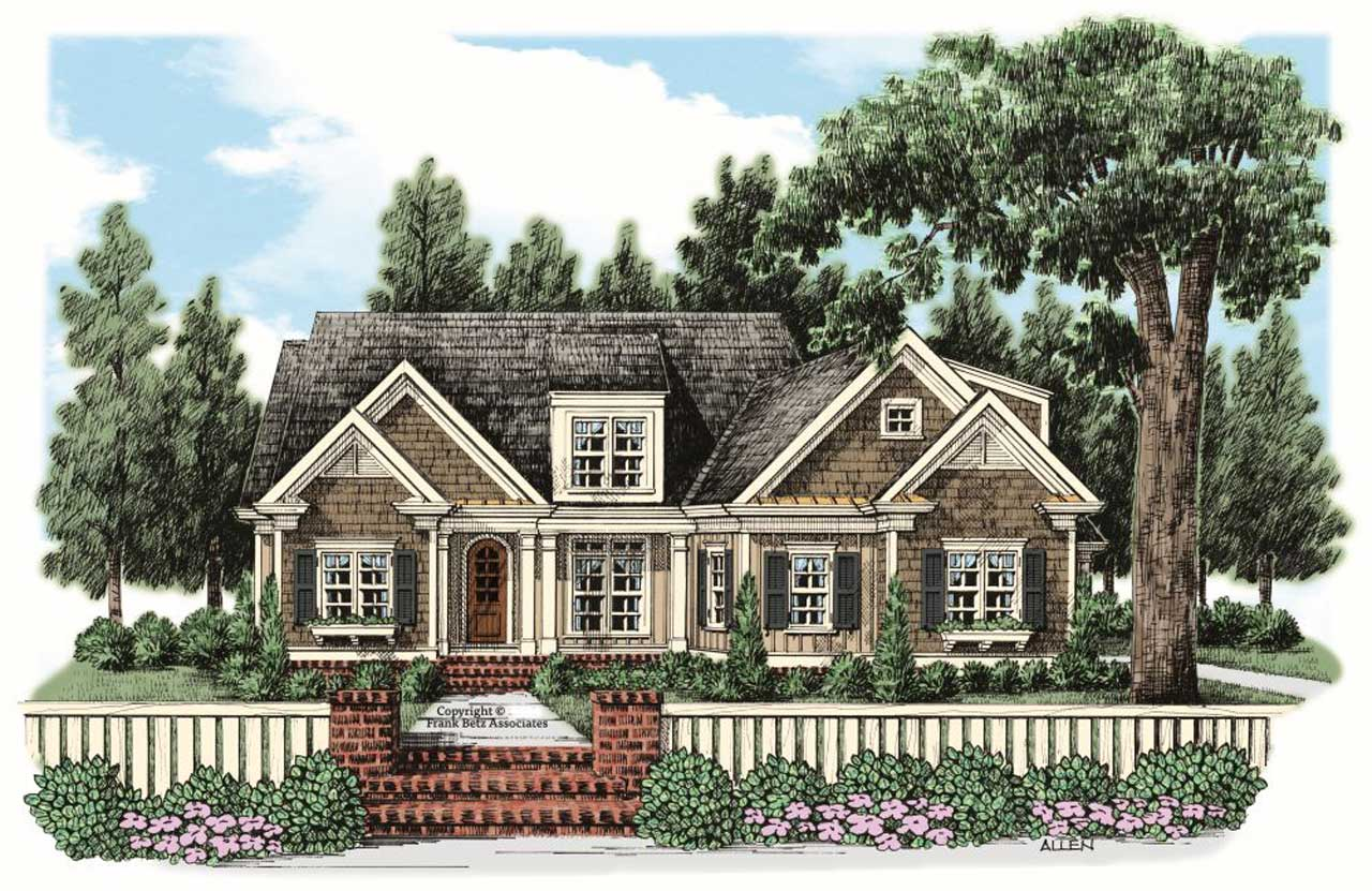 Traditional Style House Plans Plan: 85-199