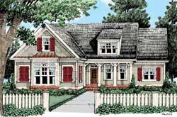 Country Style House Plans Plan: 85-205