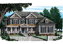 Traditional Style Floor Plans Plan: 85-207