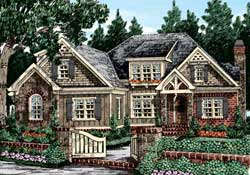 Traditional Style House Plans Plan: 85-210