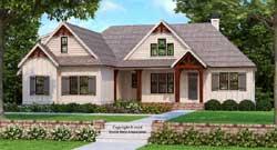 Modern-Farmhouse Style House Plans Plan: 85-219