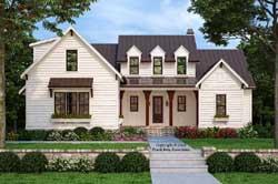 Modern-Farmhouse Style House Plans Plan: 85-220