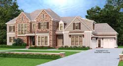 Traditional Style Floor Plans Plan: 85-222