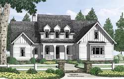 Modern-Farmhouse Style House Plans Plan: 85-224