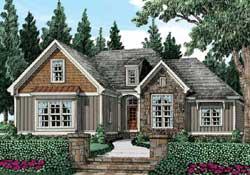 Modern-Farmhouse Style House Plans Plan: 85-231