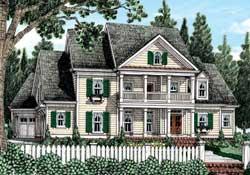 Cottage Style Floor Plans Plan: 85-246