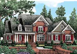 Traditional Style House Plans Plan: 85-249