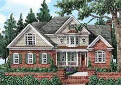 Traditional Style Floor Plans Plan: 85-251