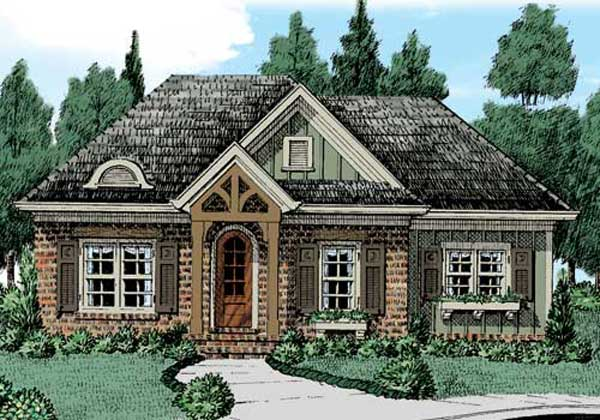 Traditional Style Floor Plans Plan: 85-292