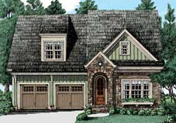 Bungalow Style House Plans Plan: 85-302