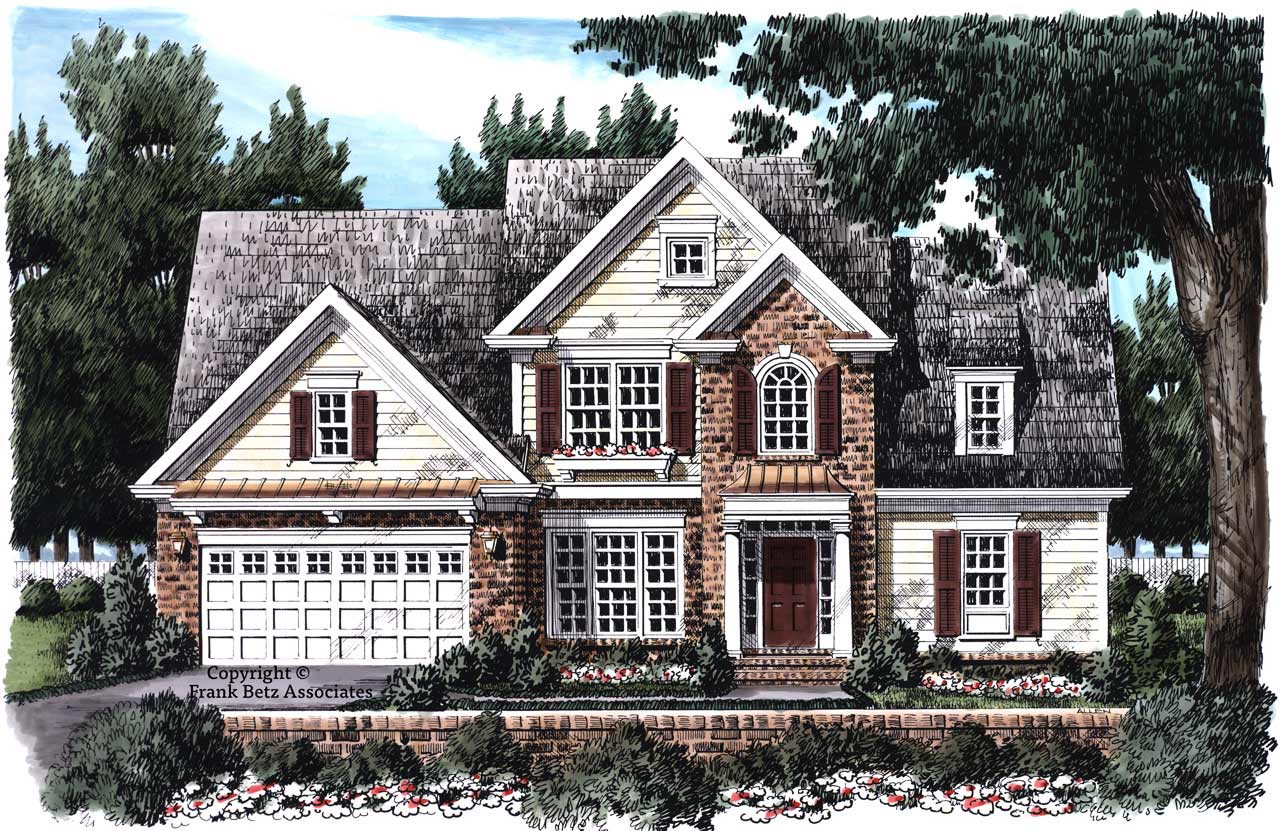 Traditional Style House Plans Plan: 85-307