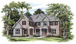 Southern Style House Plans Plan: 85-309