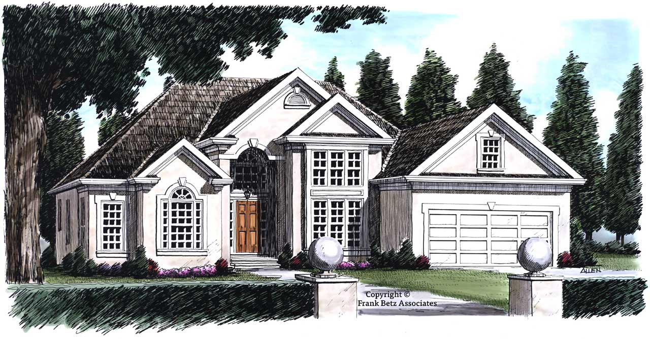 Traditional Style House Plans Plan: 85-318