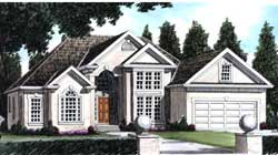 Traditional Style Floor Plans Plan: 85-318