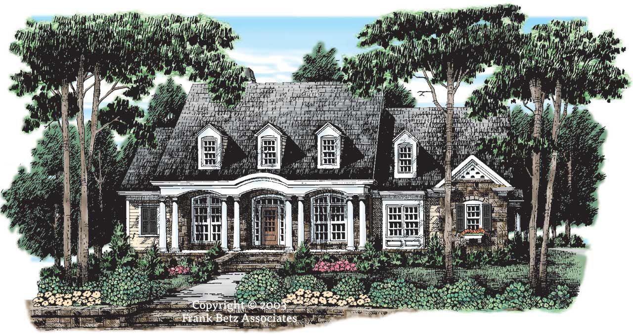 Southern Style House Plans Plan: 85-319