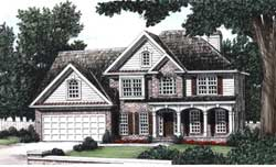Traditional Style Floor Plans Plan: 85-321