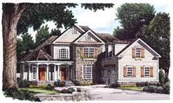 Country Style House Plans Plan: 85-323