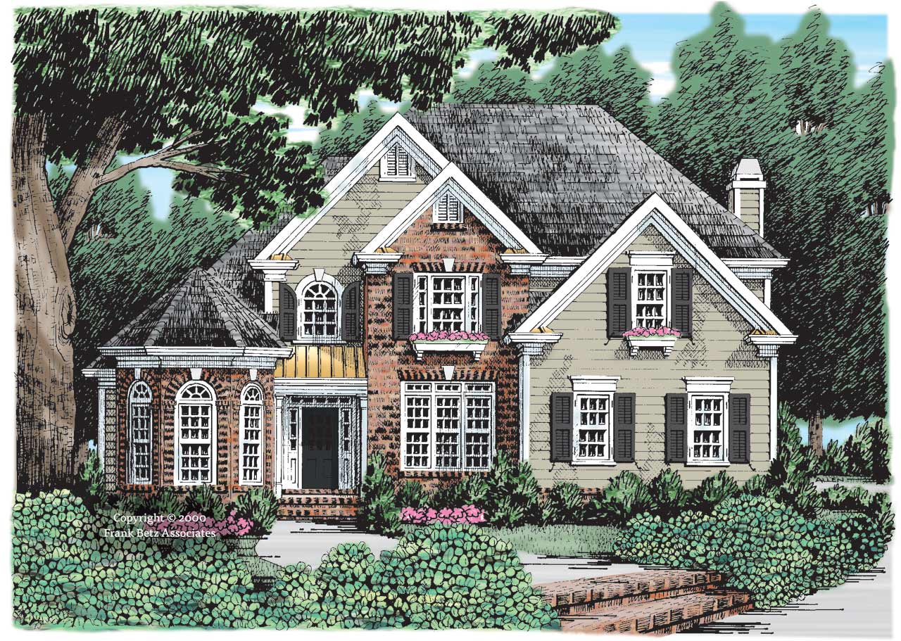Southern Style House Plans Plan: 85-324