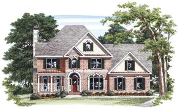 Southern Style House Plans Plan: 85-325