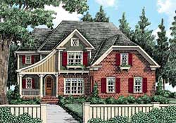 Cottage Style House Plans Plan: 85-327