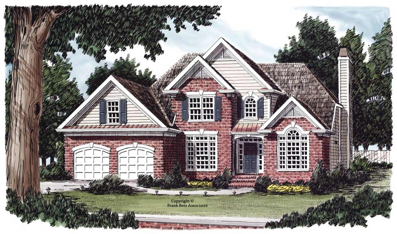 Traditional Style House Plans Plan: 85-333