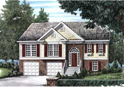 Traditional Style Home Design Plan: 85-337