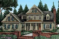 Country Style Floor Plans Plan: 85-340