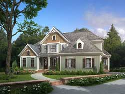 Country Style Floor Plans Plan: 85-341