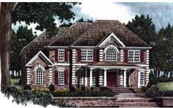 Southern Style Floor Plans Plan: 85-348