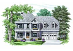 Traditional Style House Plans Plan: 85-350