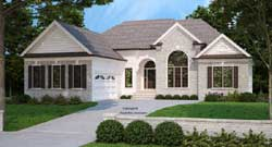 Traditional Style Floor Plans Plan: 85-353