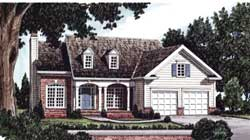 Southern Style Floor Plans Plan: 85-357