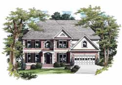 Southern Style Floor Plans Plan: 85-358