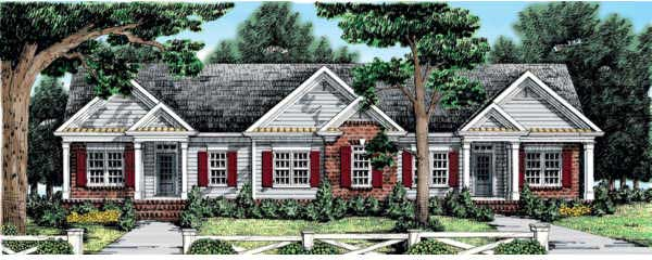 Traditional Style House Plans Plan: 85-375