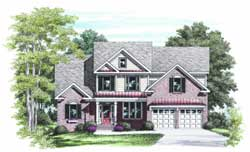Traditional Style House Plans Plan: 85-380