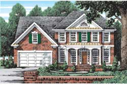 Southern Style Floor Plans Plan: 85-387