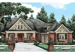 Craftsman Style Floor Plans Plan: 85-389