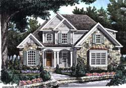 Cottage Style Floor Plans Plan: 85-394