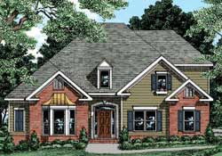 Traditional Style House Plans Plan: 85-395
