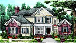 Southern Style House Plans Plan: 85-397