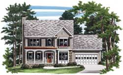 Traditional Style Floor Plans Plan: 85-398