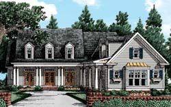 Country Style House Plans Plan: 85-401